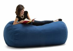 Looking for bean bag chair? Here are 11 best bean bag chairs. These chairs are comfortable and long lasting. Diy Bean Bag, Cool Bean Bags, Kids Bean Bags, Large Bean Bag Chairs, Large Bean Bags, How To Make A Bean Bag, Best Computer Chairs, Bean Bag Sofa, Stuffed Animal Storage