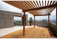現代風陽台 Balcony Design, Design Case, Pergola, Outdoor Structures, Style, Swag, Outdoor Pergola, Outfits