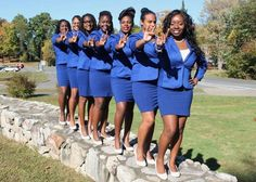 Sorors of Alpha Nu Chapter (SUNY - New Paltz) - 2014 (Happy Charter Day 10/13/2014)