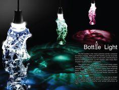 LampadaBottiglia  Bottle Light – LED Light Using Recycle PET Bottles by YaRan Chang, Hsin Chou Liao, Chung en Lee & Simon Shih
