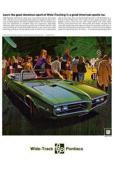 1968 Pontiac Firebird - Wide Track Pontiacs