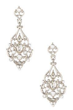 Velvet Victorian Crystal Drop Earrings by Nina Jewelry on @nordstrom_rack