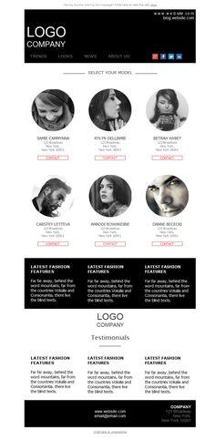 ¿Quieres ver a los modelos de tu agencia en las mejores pasarelas? Con las plantillas newsletter de Mailify llegarán directos.