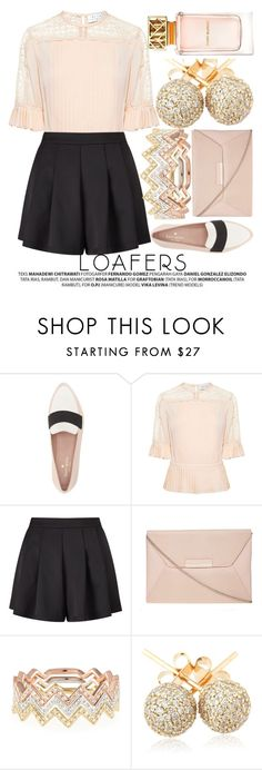 """FALL FOOTWEAR TREND: LOAFERS"" by noraaaaaaaaa ❤ liked on Polyvore featuring Kate Spade, Tanya Taylor, Miss Selfridge, Dorothy Perkins, EF Collection, Loushelou and Tory Burch"