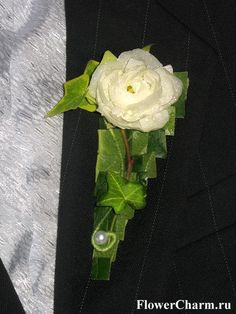 Бутоньерка жениха Цветочное очарование - Цветочное очарование