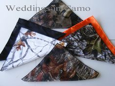 POCKET SQUARES Camo Colors FREE with tie purchase