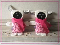 Les agnelles jumelles!