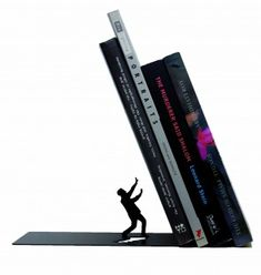 Falling Bookend by Artori Design - Cool Gifts