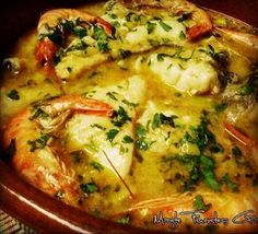 Quick Recipes, Fish Recipes, Vegan Recipes, Salsa Verde, Tapas, Food Decoration, Portuguese Recipes, Fish And Chips, Keto Meal Plan
