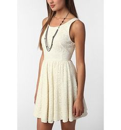 #summertime lace dress Like, share and repin :D