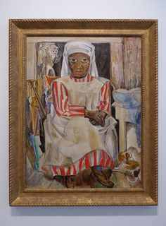 Aunt Mary Eliza by Marguerite Zorach  Samson Gallery art opening for the Marguerite Zorach, Dahlov Ipcar, & William Zorach Show, South End, Boston, MA, Saturday, June 20, 2015