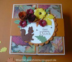 KERSTEN'S  KREATIVKISTE: Herbstlich....