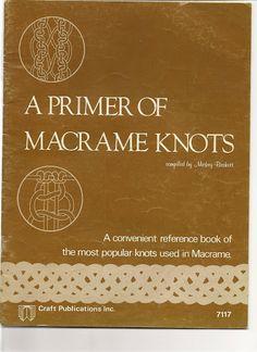 Macrame Knots - Angela M B Pires - Picasa Web Album
