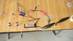 Build a cheap four channel RC plane Transmitter and Receiver with a range of 1.8 KM using Arduino Nano, joystick and HC12
