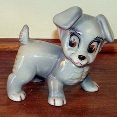 WADE Vintage Disney Blow Up SCAMP PUPPY DOG