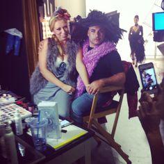 Sitting on an Ant  @antcomic @Sacia O Couture Head Wear