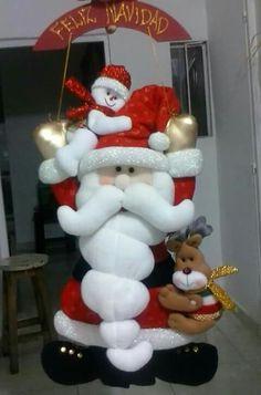 Santa colgante