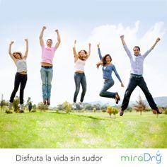 #RaiseYourHands #happy #StayDry #miraDry #SinSudor #felicidad