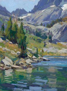 Scott Burdick, ohh, beautiful painting....