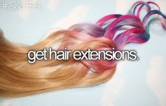 I'd prolly do this just so that I can say I've had hair as long as Rapunzel!