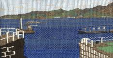 Mouth of the Crinan Canal This tapestry has been now been sold City Photo, Tapestry, Hanging Tapestry, Tapestries, Needlepoint, Wallpapers, Rug Hooking
