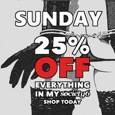 Awesome #sunday #sale at #society6 is back! This time it's huge 25%OFF! Check our shop at http://ift.tt/2ioJwEj best place for #eroticart #sexy #clothing #kinky #homedecor #iphone #cases #tapestries #pillows #bedroom #decor and much much more #home and #style #accessories #shop now!