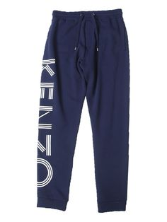 KENZO PRINTED COTTON JOGGING TROUSERS.  kenzo  cloth   79f09119571