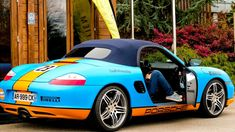 Porsche Boxster, Camps, Dream Cars, Ebay, Unique, Cover, Vehicles, Clothing, Blue