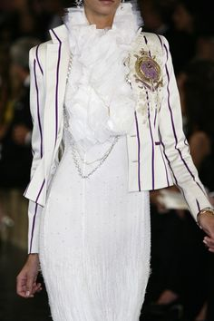 Ralph Lauren at New York Fashion Week Spring 2008 - Details Runway Photos