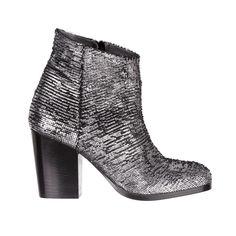 silver boots - fiorifrancesi