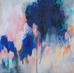 "Saatchi Art Artist kelly witmer; Painting, ""blue monday"" #art"