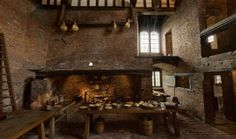 View the hall in 360° Medieval houses House inside House