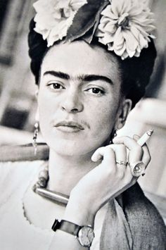 """I drank to drown my sorrows, but the damned things learned how to swim.""  ― Frida Kahlo"