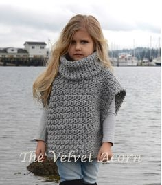 CROCHET Pattern - Aura Pullover (2, 3/4, 5/7, 8/10, 11/13, 14/16, S/M, L/XL sizes) door Thevelvetacorn op Etsy https://www.etsy.com/nl/listing/225646171/crochet-pattern-aura-pullover-2-34-57