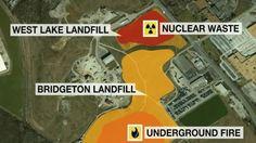 Massive Flooding In Missouri, Radioactive Landfill, Live Stream Above Mi...