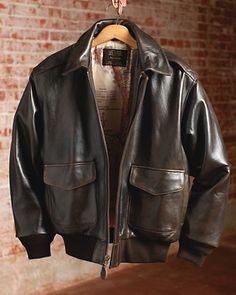 My own Roughwear A2 Flight Jacket in Seal Brown | A-2 | Pinterest