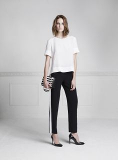 www.annefontaine.com Modern woman #Pant #Relaxed and Glamour