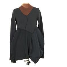 ten dresses: black dress one - Secret Lentil Clothing