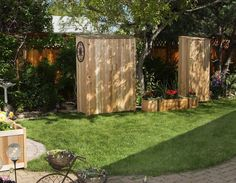 Improve The Looks Of A Storage Shed Storage Yards And