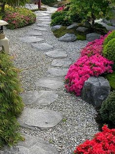 Diy project inspiration - 55 stone walkway for backyard and frontyard 24