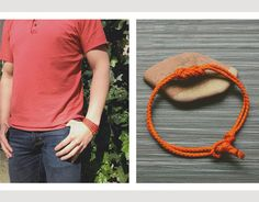How To: Make a $2 Nautical Knotted Rope Bracelet | Man Made DIY | Crafts for Men | Keywords: summer, accessories, boat, knot