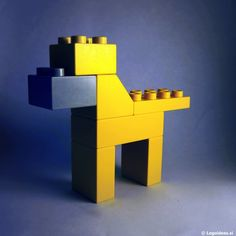 Simple lego duplo dog