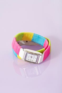 Neon Wrap Watch