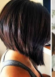 Imagini pentru pretty highlights in brown hair with an inverted bob haircut