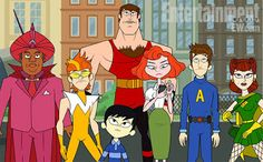 TomatoVision TV: Hulu Plus to Premiere Animated 'Awesomes' in August