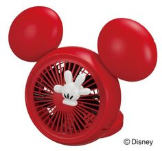Disney Mickey Table FAN with Aroma (USB, AC, Battery) NPM-1084U(RD):Amazon:Home & Kitchen