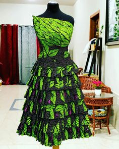 Ankara dress for any occasion Designers are becoming more Creative When it comes to designing african prints. Find more intricate ankara styles by visiting www. Short African Dresses, Ankara Short Gown Styles, Trendy Ankara Styles, Ankara Wedding Styles, African Fashion Ankara, Latest African Fashion Dresses, African Print Fashion, African Print Skirt, African Print Dresses