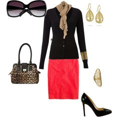 Work Professional, created by firefly7522 on Polyvore