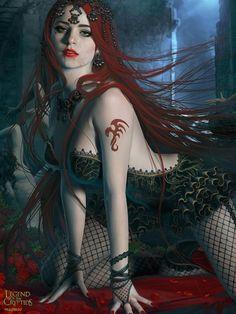 Artist: Unknown name aka maomao22 - Title: Unknown - Card: Connoisseur Edda (Peril)