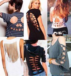 как переделать пальто в пиджак – Пошук Google Wrap Shirt, T Shirt Diy, Diy Clothes, Cool Shirts, Shirt Designs, Awesome, Google, Tops, Women